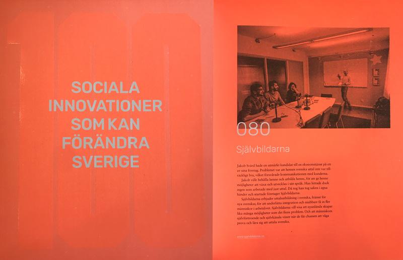 Boken - 100 Sociala innovationer - Uttalsträning i svenska